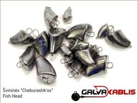 Lead Cheburashk Fish Head