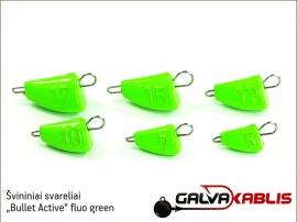 Svininiai svareliai Bullet Active fluo green 01