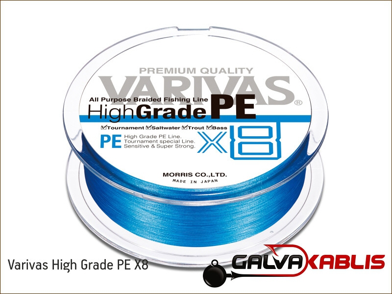 NOGALES BY VARIVAS DEAD OR ALIVE ULTRA POWER FINESSE PE X8 BRAID LINE 150m