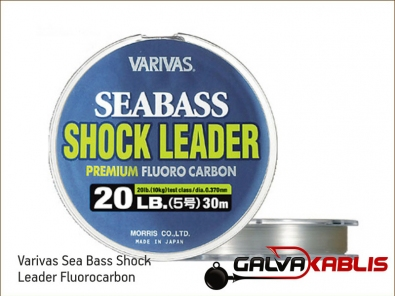 Varivas Sea Bass Shock Leader Fluorocarbon
