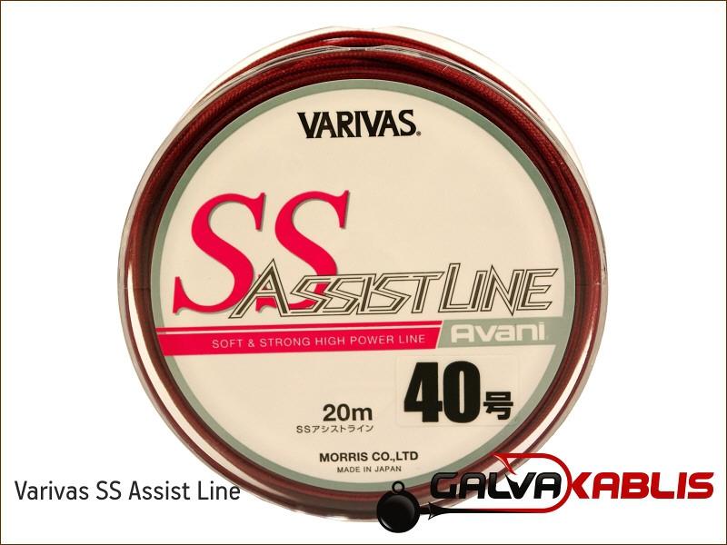 3482 Varivas SS Assist Line 20m #40 200lb