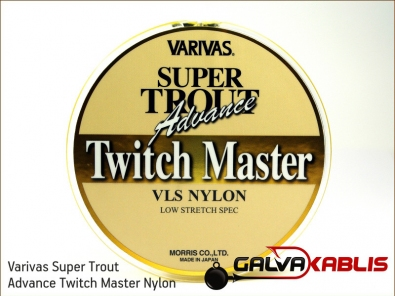 Varivas Super Trout Advance Twitch Master Nylon