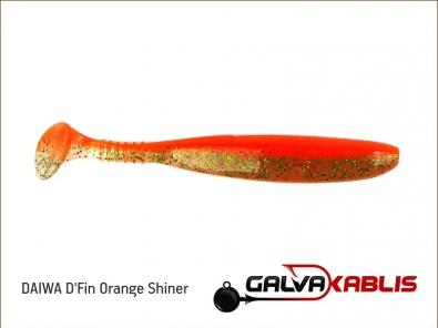 DAIWA D_Fin Orange Shiner