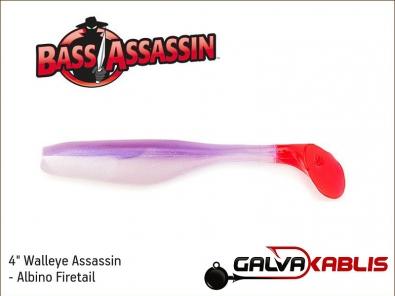 Walleye Assassin - Albino Firetail
