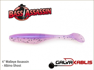 Walleye Assassin - Albino Ghost