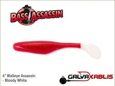Walleye Assassin - Bloody White