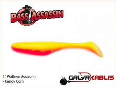 Walleye Assassin - Candy Corn
