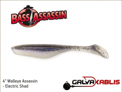 Walleye Assassin - Electric Shad