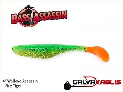 Walleye Assassin - Fire Tiger