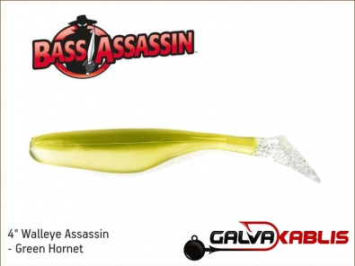 Walleye Assassin - Green Hornet