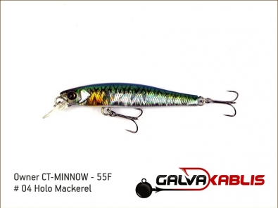 CT-MINNOW - 55F - 04 Holo Mackerel