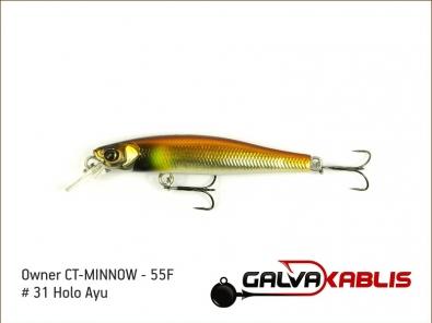 CT-MINNOW - 55F - 31 Holo Ayu