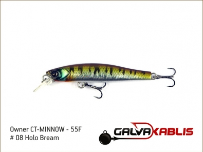 CT-MINNOW - 55F - 08 Holo Bream