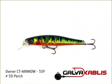 CT-MINNOW - 55F - 59 Perch