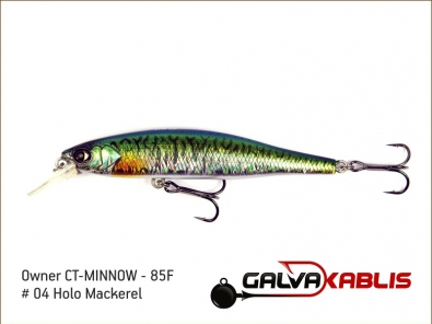 CT-MINNOW - 85F - 04 Holo Mackerel