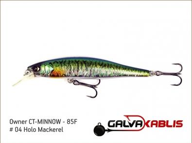 CT-MINNOW - 85F - 04 Holo Mackerel