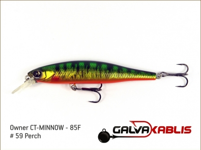 CT-MINNOW - 85F - 59 Perch