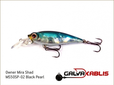 Mira Shad MS50SP-02 Black Pearl