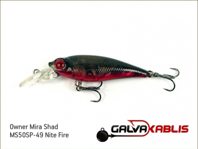 Mira Shad MS50SP-49 Nite Fire