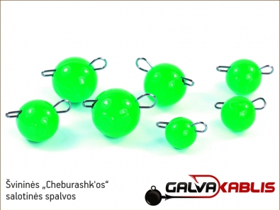 Svinines cheburashkos Fluo Green 01