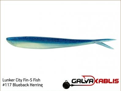 Lunker City Fin-S Fish 117 Blueback Herring