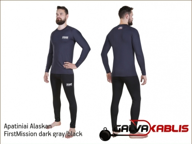 Apatiniai Alaskan FirstMission dark gray black