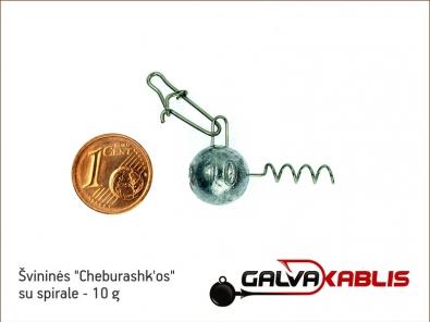 Cheburashkos su spirale 10g