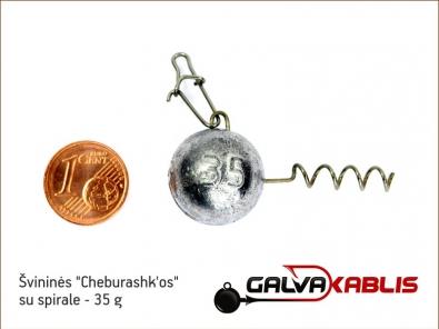 Cheburashkos su spirale 35g