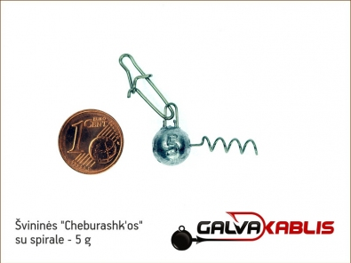 Cheburashkos su spirale 5g