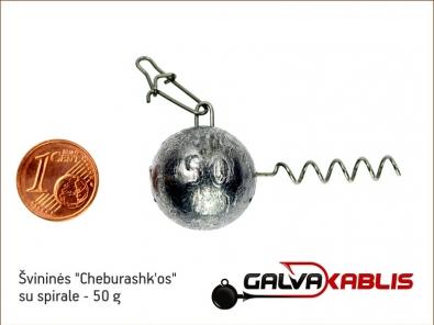Cheburashkos su spirale 50g