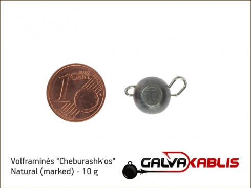 Tungsten Cheburashka Natural 10g