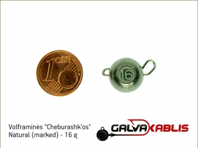 Tungsten Cheburashka Natural 16g
