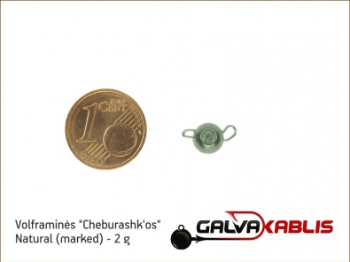 Tungsten Cheburashka Natural 2g