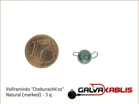 Tungsten Cheburashka Natural 3g