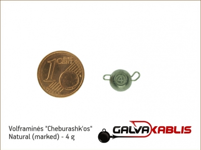 Tungsten Cheburashka Natural 4g