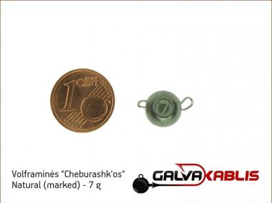 Tungsten Cheburashka Natural 7g