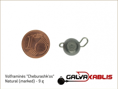 Tungsten Cheburashka Natural 9g