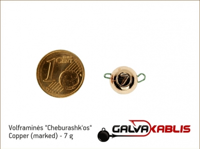Tungsten Cheburashka Copper 7g
