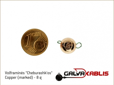 Tungsten Cheburashka Copper 8g