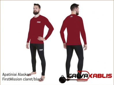 Apatiniai Alaskan FirstMission claret black