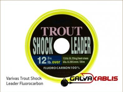 Varivas Trout Shock Leader Fluorocarbon 12lb