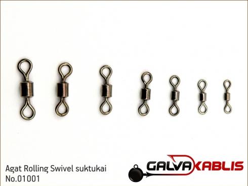 Agat Rolling Swivel No 01001