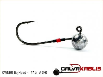 OWNER Jig Head 17 g 3 0