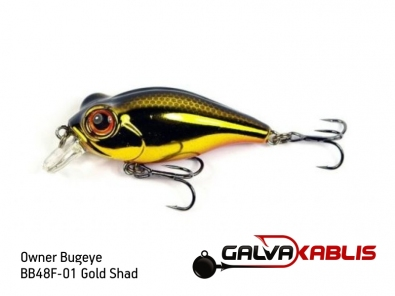 BB48F-01 Gold Shad