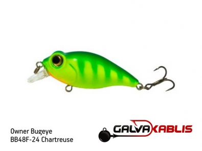 Owner Bugeye BB48F-24 Chartreuse