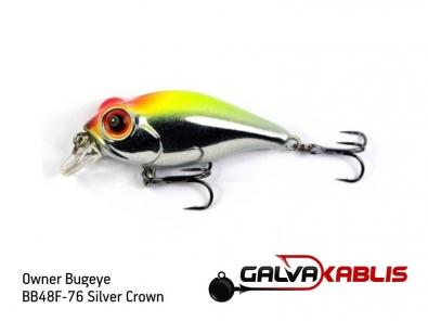 Owner Bugeye BB48F-76 Silver Crown
