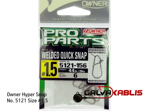 Owner Hyper Snap No 5121 Size1 5