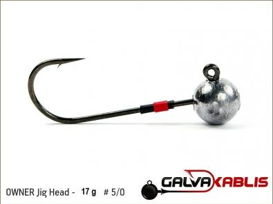 OWNER Jig Head 17 g 5 0