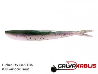 Lunker City Fin-S Fish 38