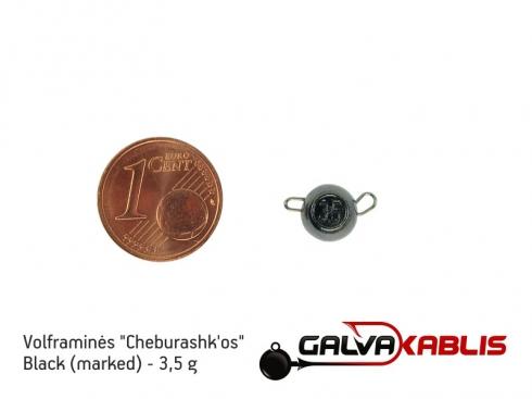 Tungsten Cheburashka Black 3.5g